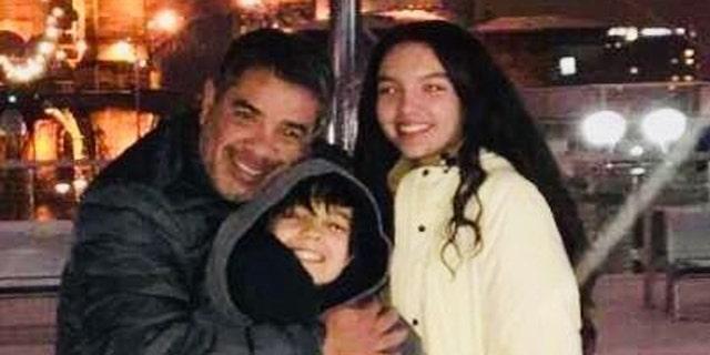 Luis Calderon (L), 48, was killed in the line of fire in the Cincinnati shooting.