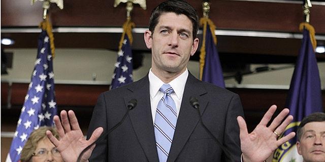 House Budget Committee Chairman Paul Ryan, R-Wis.