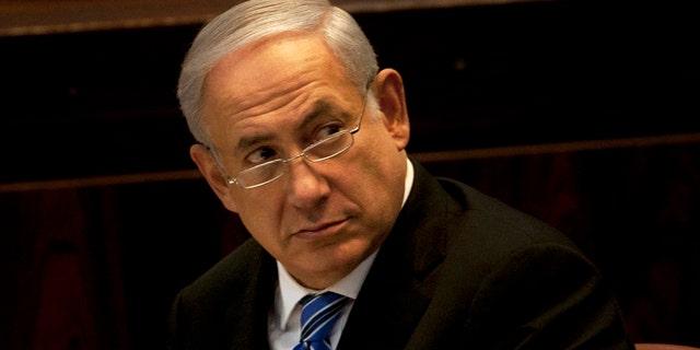 May 16: Israeli Prime Minister Benjamin Netanyahu in the Knesset, Israel's parliament, in Jerusalem.