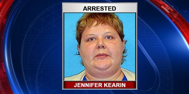 Jennifer Kearin was arrested Monday.