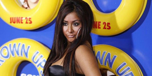 Snooki won't be dropping from a ball this year on New Year's Eve.