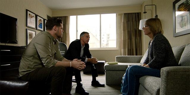 """Derrick Levasseur and Kris Mohandie in """"Breaking Homicide."""""""
