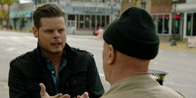 """Derrick Levasseur in """"Breaking Homicide."""""""