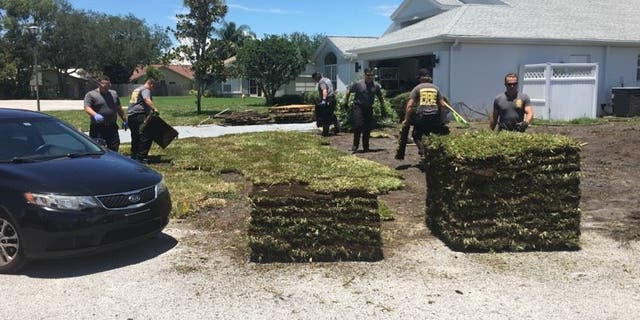 Firefighters from the Pasco County Fire Rescue decided to pitch in after they transported Gene Work to the hospital after he suffered a heart attack on Saturday.