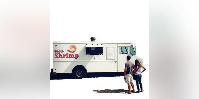 Maui,Maui, tastiest scenic road trip; Feb'12; Geste shrimp truck