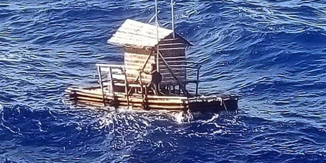 Aldi Novel Adilang, 19, survived 49 days adrift at sea by eating fish and drinking sea water. He consulted a Bible when he grew desperate.