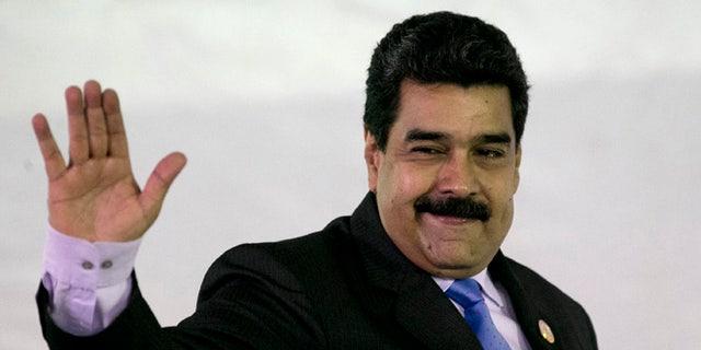 Venezuela's President Nicolas Maduro on Sept 18, 2016.