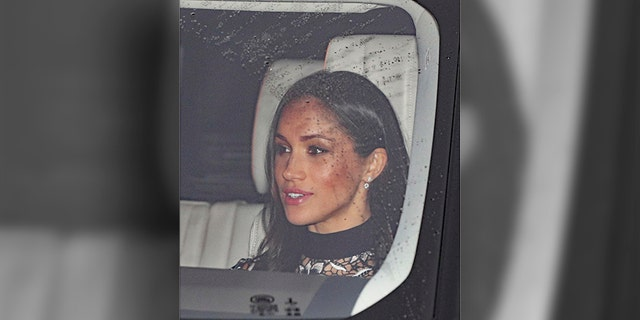 This is the first event where Markle spent time with the entire royal family. The actress will join Harry's immediate family at the Queen's estate in Sandringham on Christmas Day.
