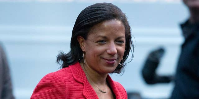 In this photo taken April 29, 2016, National Security Adviser Susan Rice is seen on the South Lawn of the White House in Washington. The national security adviser is the president's policy whisperer and confidant on military matters, diplomacy, intelligence, terrorism, even the odd hurricane. The adviser usually enjoys unmatched trust with the chief executive and lots of behind-the-scenes clout. (AP Photo/Carolyn Kaster)