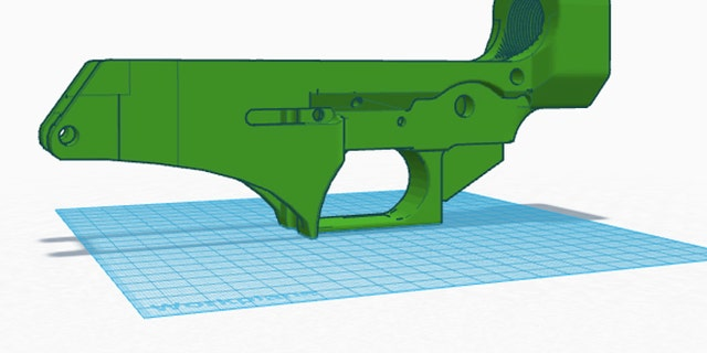 Schematics for the lower receiver. (printedfirearm.com)