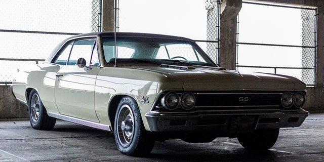 This Chevrolet Chevelle SS is pure American muscle.
