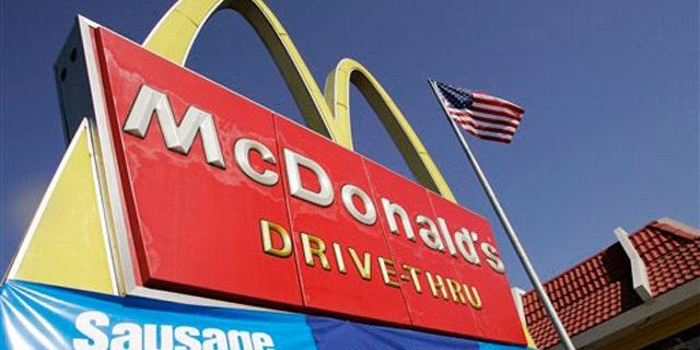 FILE - A McDonald's restaurant is seen in San Jose, Calif.