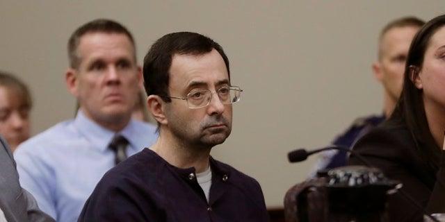 Larry Nassar during trial.