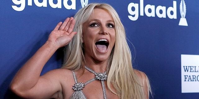 Pop star Britney Spears.