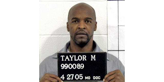 In this handout photo from the Missouri Correctional offices, Michael Anthony Taylor of Kansas City is shown. The Apothecary Shoppe, of Tulsa, submitted a sealed response to Taylor's lawsuit accusing it of illegally providing Missouri with a made-to-order drug to be used in his lethal injection. (AP)