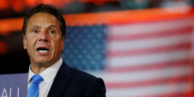 New York Gov. Andrew Cuomo ordered heightened security measures throughout the state Tuesday following a terror attack in Lower Manhattan.