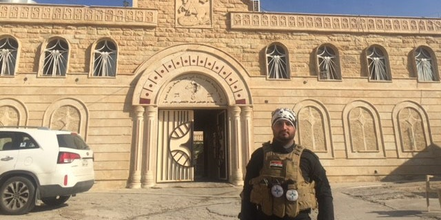 St. George Cathedral, just outside of Mosul City, was previously occupied by ISIS.