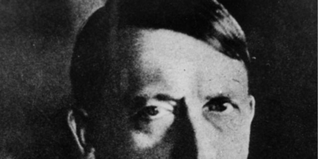 Adolf Hitler is shown in this undated file picture . Courtesy of The National Archive/Handout via REUTERS