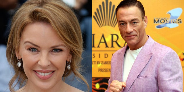 Did Jean-Claude Van Damme have an affair with Kyle Minogue?