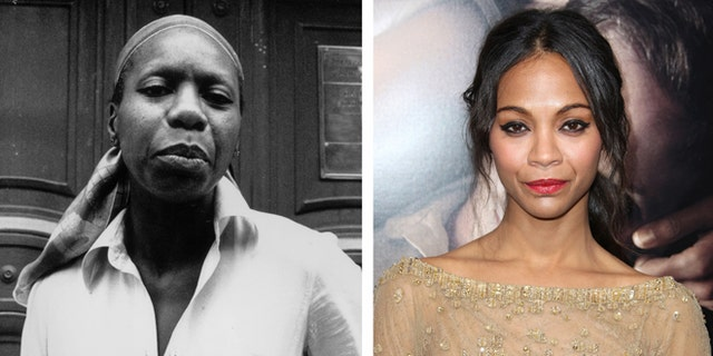 Zoe Saldana apologized for playing singer and activist Nina Simone in a 2016 biopic.