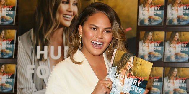 Chrissy Teigen said in response to her new anti-diet approach to life: