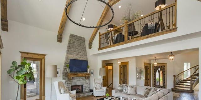 The design of the home is traditional but relaxed where it matters.