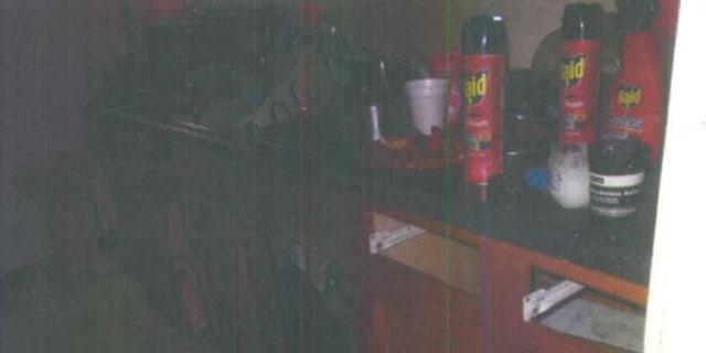 Inside the Joliet Township home where Semaj Crosby, 1, was found dead.