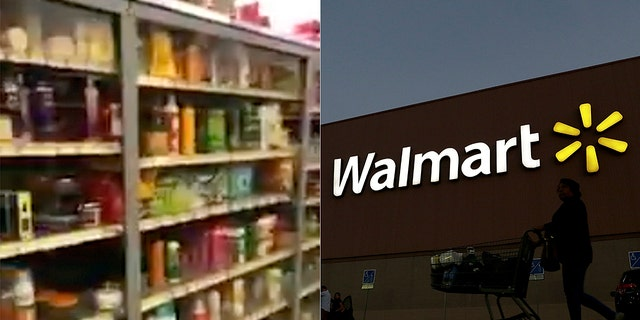 A Southern California woman has filed a suit against Walmart after she noticed only products target toward African-Americans were locked behind glass.