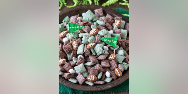 """Blogger Beth of The First Year offers a """"football-ified"""" take on this year round favorite."""