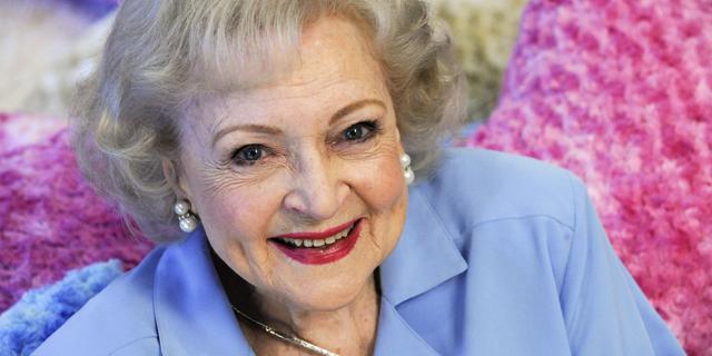 Betty White. (Reuters)