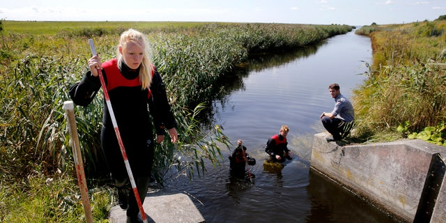Divers search Copenhagen waters for body parts, items that belong to slain journalist Kim Wall.