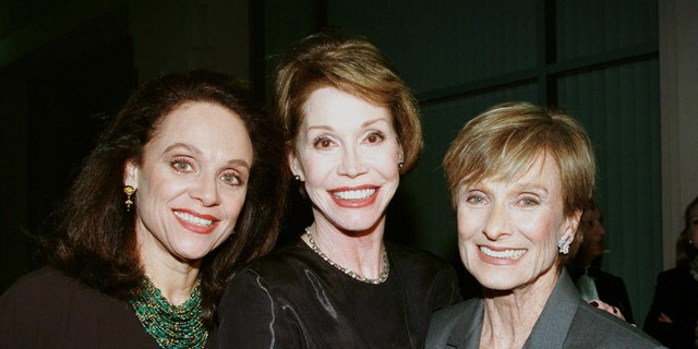 Valerie Harper, Mary Tyler Moore and Cloris Leachman.