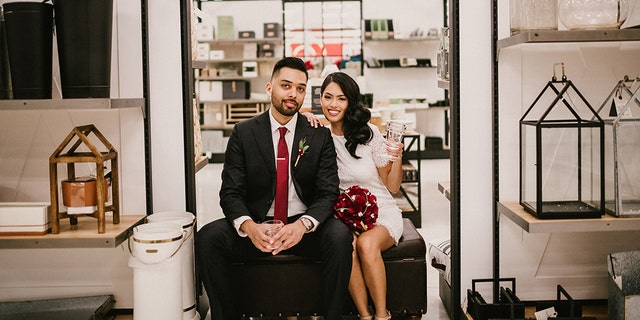 The Miami residents tied the knot on Jan. 26.
