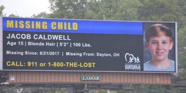 Billboards were posted of Jacob last week in a renewed effort to find the teen.
