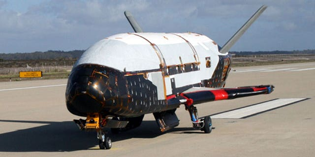 An undated image released by the U.S. Air Force showing the X-37B spacecraft.