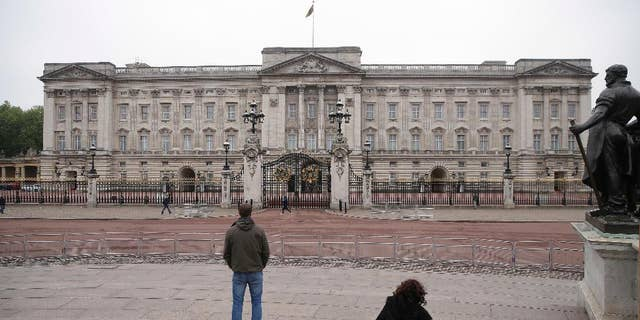 Buckingham Palace is seen in this May 4, 2017 photo.