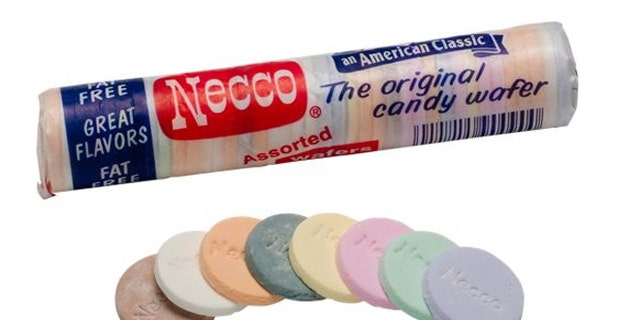 http://www.vermontcountrystore.com/store/jump/productDetail/Food_&_Candy/Candy_&_Desserts/Candy_Counter/Traditional_Necco_Wafers_-Package_of_10-/53749?creative=24356582658&matchtype=&network=g&device=c&adpos=1o1&searchid=7SPFGPLA&feedid=googlenonbrand&gclid=COmQ_PbJsroCFc-Y4Aod4CoAUQ