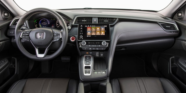The hybrid is being positioned as a premium model above the Civic.