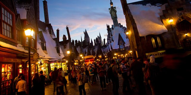 """Morales was disappointed to discover she """"couldn't fit on any of the Harry Potter rides because of my weight."""""""