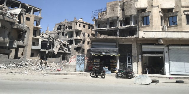 UN estimates that around 80 percent of Raqqa was destroyed last year in liberation efforts.