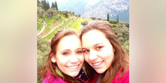 Olivia Shannon, right, was killed in the crash.