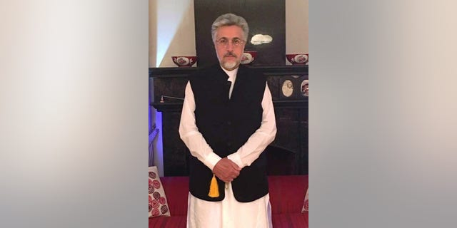 Kabul politician and founder of the National Solidarity Movement of Afghanistan, Sayed Ishaq Gailani