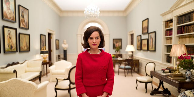 """""""Jackie"""" stars Natalie Portman as the iconic first lady Jacqueline Kennedy Onassis."""