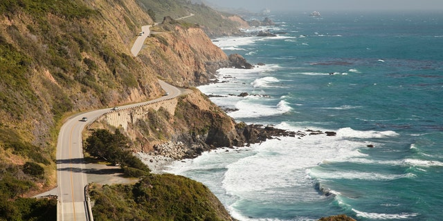 Following the California coastline, the road itself is a destination.