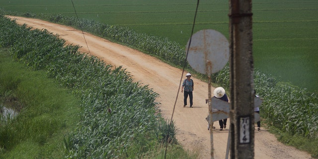 Rural areas of North Korea