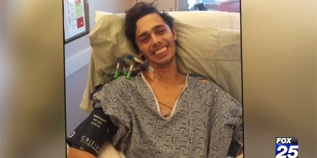 Ben Blake received a liver infected with Hepatitis C.