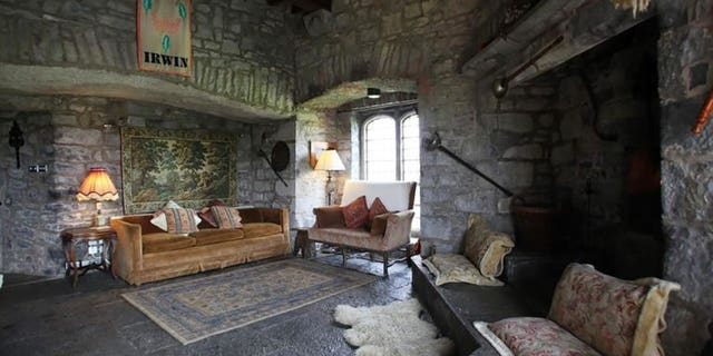 The cozy 600-year-old castle looks like something from a storybook.