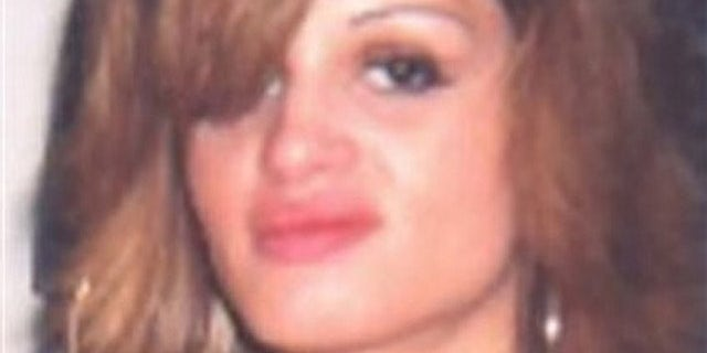 This undated photo taken from a Jersey City Police Department missing persons poster shows 24-year-old Shannan Gilbert (AP).