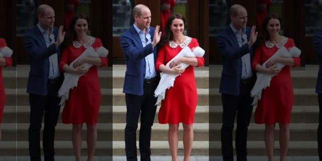 The Duke and Duchess of Cambridge welcomed Prince Louis on April 23, 2018.