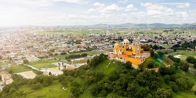 Aerial view of Puebla